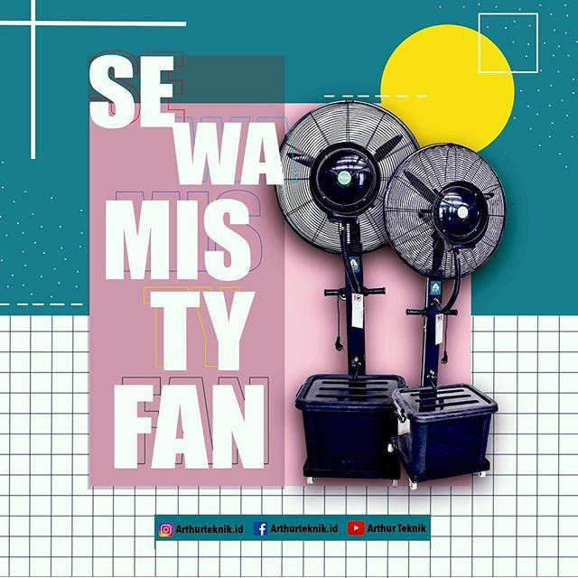 Jasa Penyewaan Misty Fan Terbagus di Jakarta