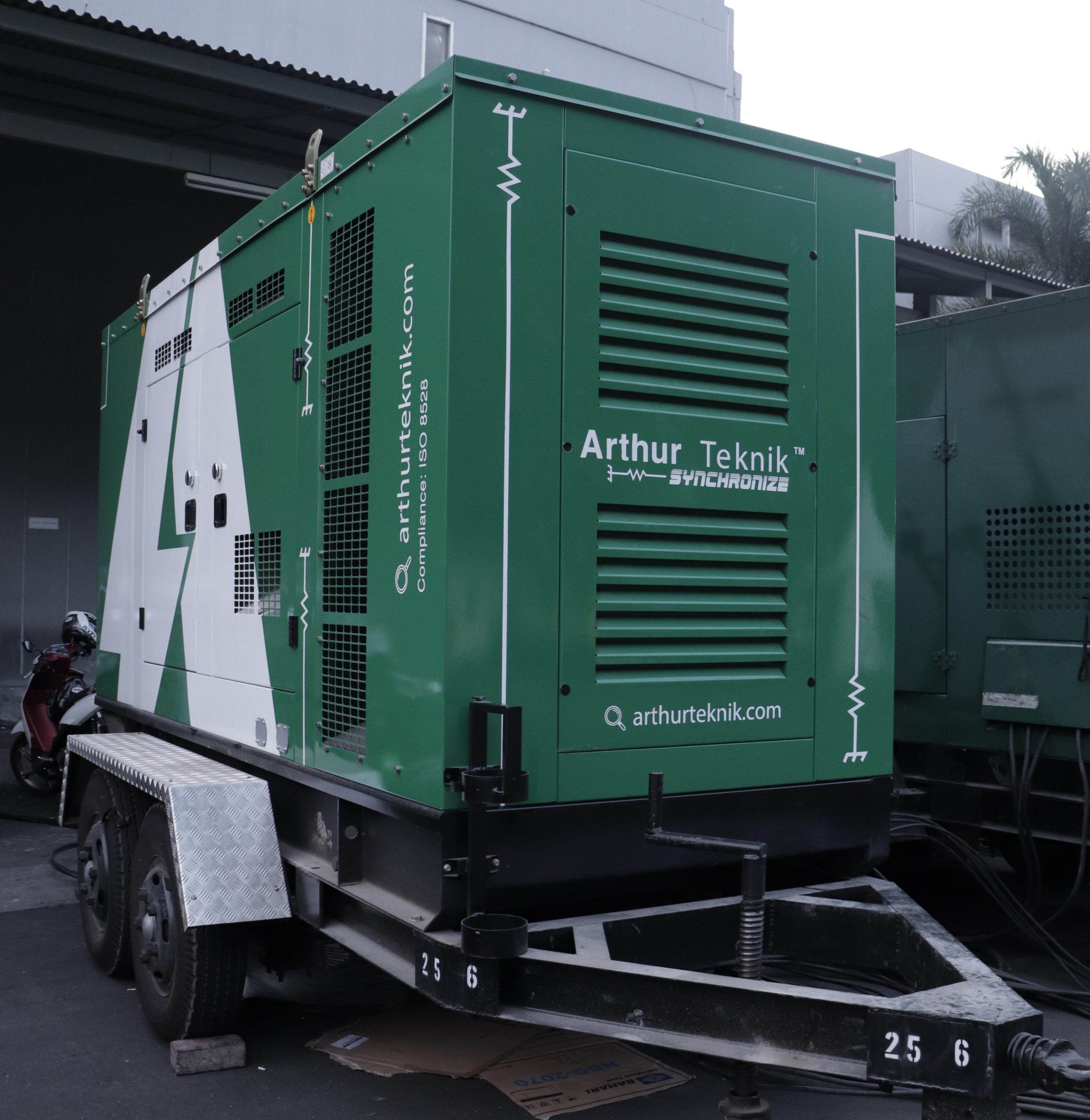 Genset Diesel Portable & Kegunaanya