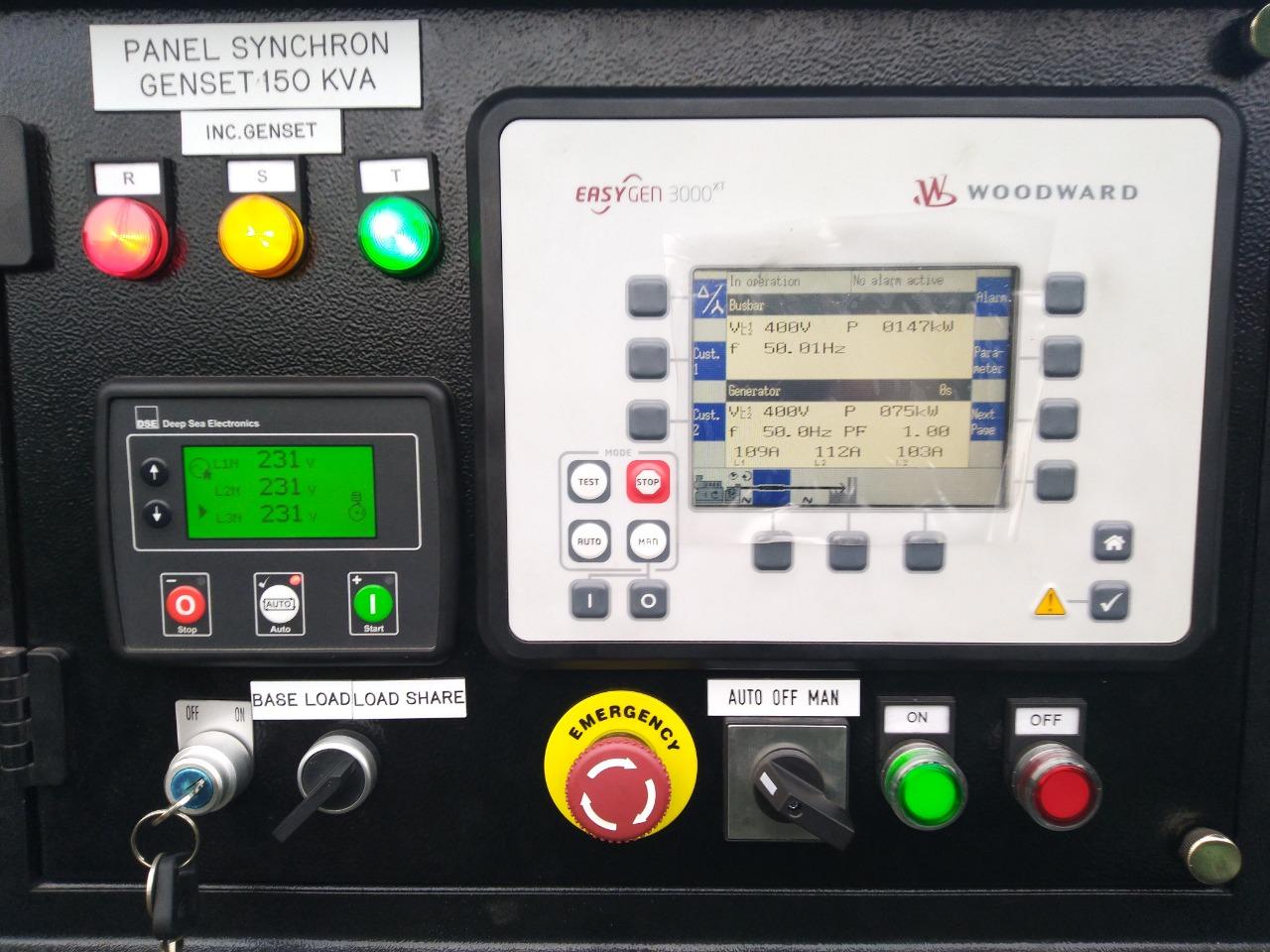Jasa Service Panel Sinkron Genset