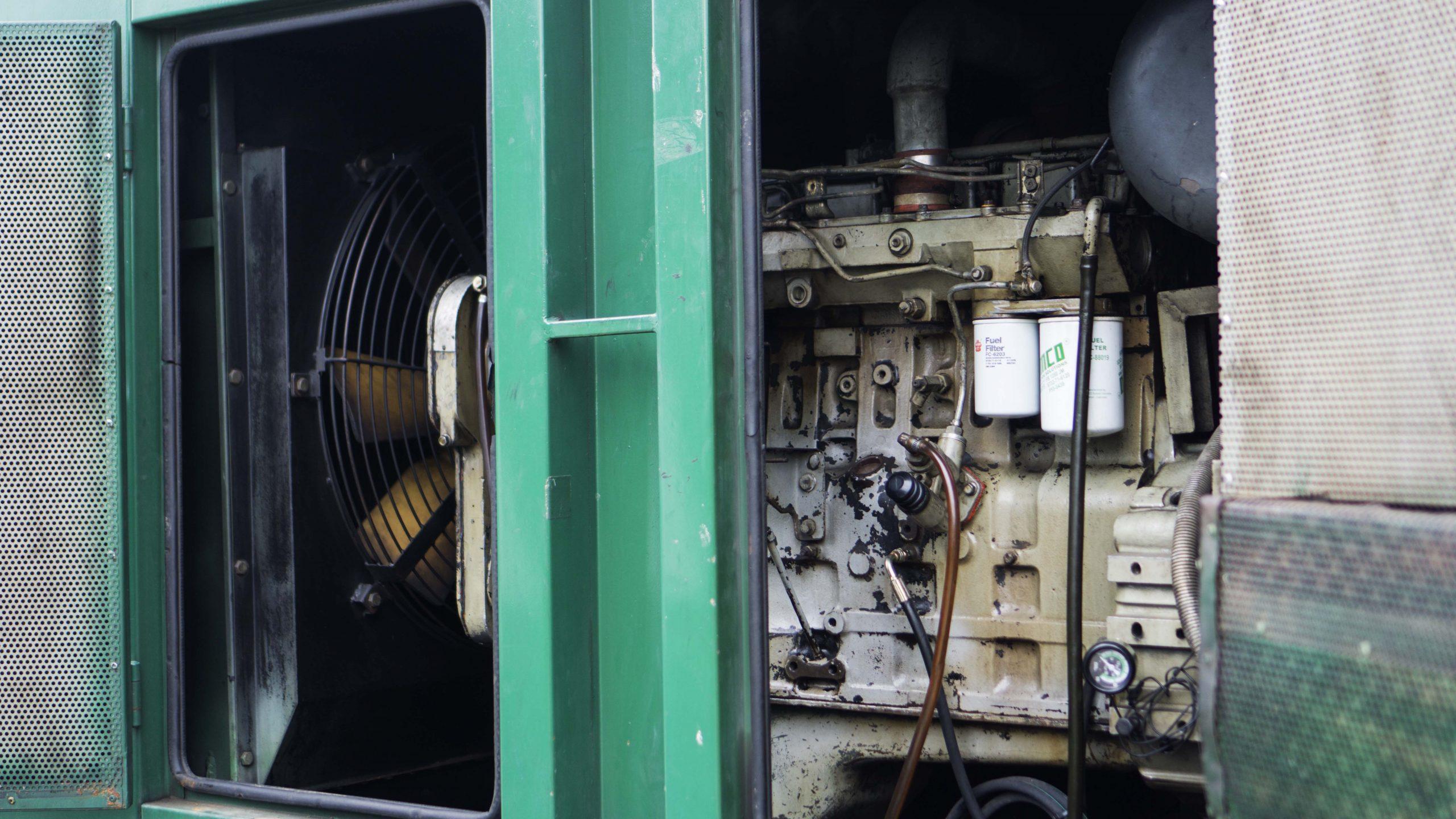 Pemeliharaan Dasar Mesin Genset Diesel