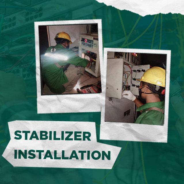 Jasa Instalasi Stabilizer