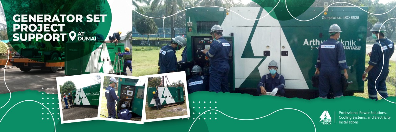 generator set project support dumai