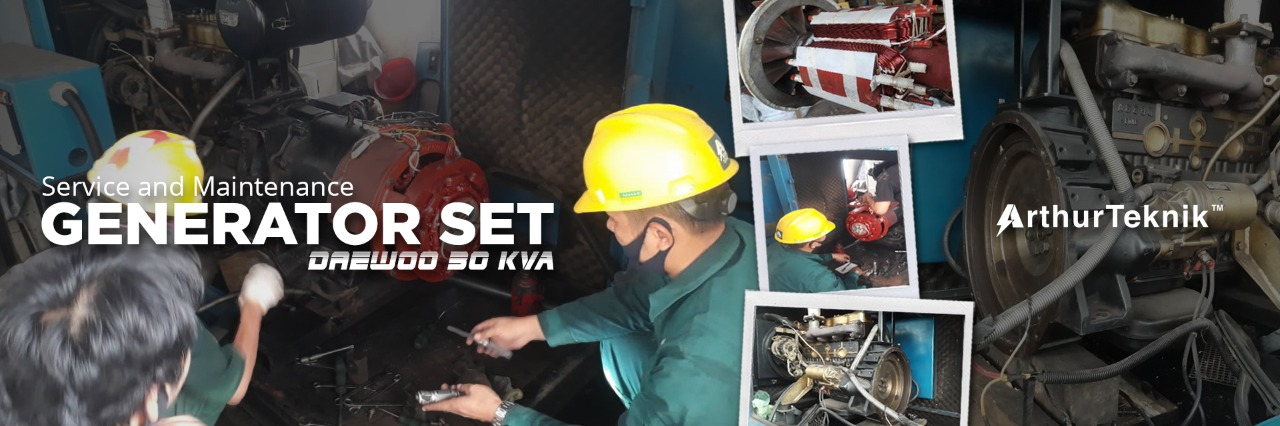 service and maintenance generator set 30 kva