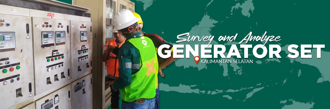 survey and Analyze Generator set in Kalimantan Selatan