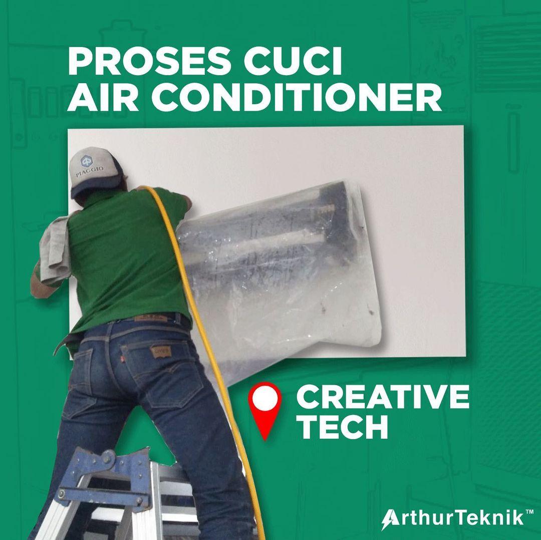 Cuci Ac di Creative Tech