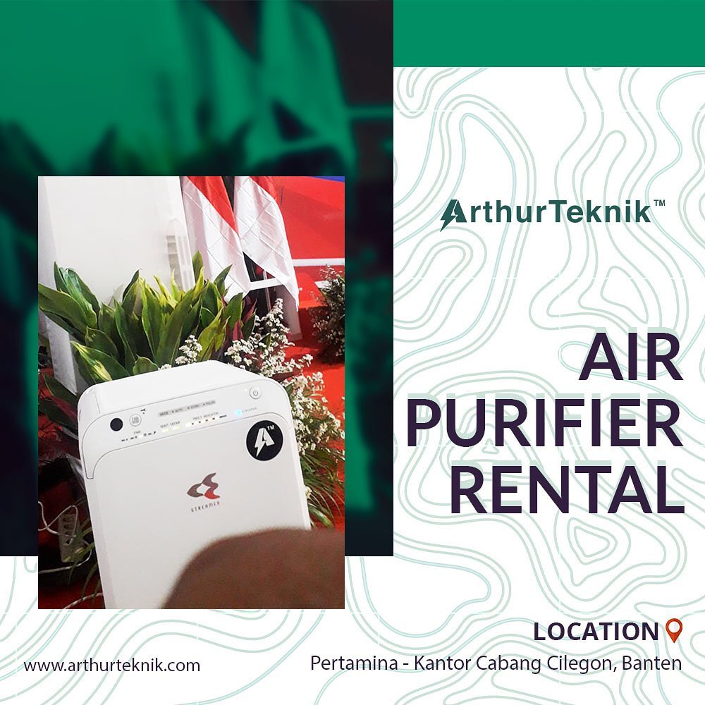 Penyewaan Air Purifier oleh klien kami yaitu Pertamina Cilegon